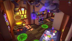 VR cottage